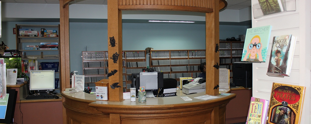 Downstairs Circulation Desk